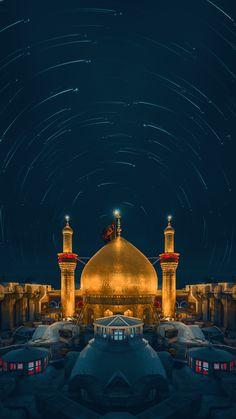 Karbala Iraq, Imam Hussain Karbala, Hazrat Hussain, Hazrat Ali, Baghdad, Best Islamic Images, Islamic Pictures, Karbala Video, Islamic Wallpaper Iphone