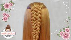 La trenza de 5 cabos para principiantes no es dificil de hacer por eso en nuestro video tutorial de peinados vas a tener tips para hacerla rapido