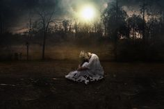 Create an Emotional Moonlight Scene in Photoshop final result