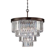 Savoy House Tierney Bronze Six Light Chandelier On SALE