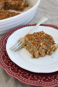 Quibe de berinjela, uma versão vegetariana que não fica devendo nada em sabor para as versões tradicionais feitas com carne.