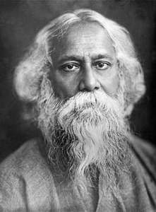 """Discover Rabindranath Tagore famous and rare quotes. Share inspirational quotes by Rabindranath Tagore and quotations about heart and joy. """"A teacher can never truly teach unless he."""