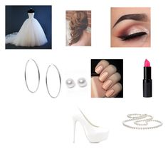 """""""Mariage"""" by coudray-eve on Polyvore featuring Nouv-Elle, Michael Kors and Nly Shoes"""