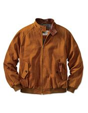 The distinctive style of our men's suede leather club jacket will make it a long-time favorite.