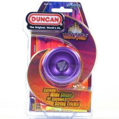 """Duncan Metropolis Yo-Yo - """"colors will vary"""" by Duncan. $32.99. The Metropolis is another solid addition to Duncan's new line of performance metal yo-yos.Made of aircraft-grade aluminum, Metropolis features a large-sized ball bearing and SG Sticker response system, allowing today's players to perform complex tricks Metropolis is available in six colorful anodized finishes!Disclaimer: Metropolis is for experienced yo-yo players and is unresponsive. It does not retu..."""