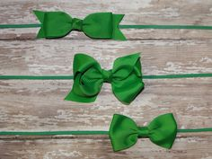 PICK 1 St. Patricks Day Headband Saint by BabyliciousDivas on Etsy