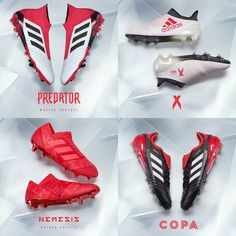 The adidas Cold Blooded Pack. Get your fave shoe here > https://www.soccerpro.com/Adidas-Soccer-Cleats-c310/