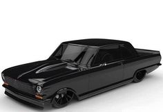 Low Fast Famous — Hot Wheels - Bad ass murdered out American muscle...