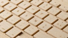 wooden keyboard - I want this!