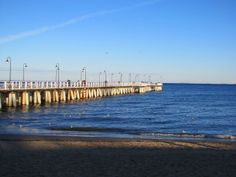 Pier from the beach