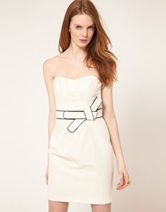 classic belted dress