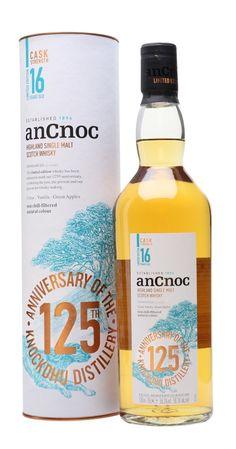 ANCNOC 16 YEAR OLD CASK STRENGTH 125th Anniversary, Highlands Rum Bottle, Liquor Bottles, Whiskey Bottle, Cigars And Whiskey, Single Malt Whisky, Scotch Whisky, Girlfriends, Beer, Gift Ideas