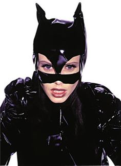 Leather Catwoman mask sexy cat mask batman by KhaosTheoryLeather ...