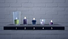 What a Beautiful Day | Glass Candles Modified EA Meshes (buydebug jar and...