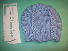 Cats-Rockin-Crochet, Free Crochet and Knit Patterns: DROP STITCH KNITTED, HAT AND HEAD BAND