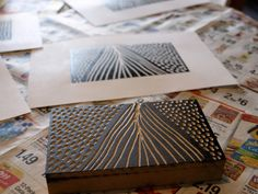 In the past month or so {perhaps since this post}, I have been getting more and more obsessed with printmaking. I mean OBSESSED. I think about it, I read books about it, I spend exorbitant amounts …