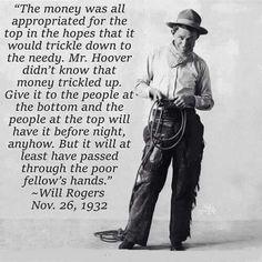 Trickle Down Economics wasn't Reagan's bad idea first.