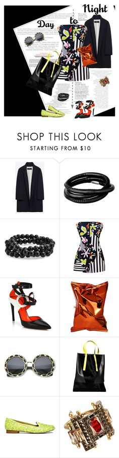 """It's Friday night and it won't be long"" by elberethgilthoniel ❤ liked on Polyvore featuring Zara, Story by Kranz & Ziegler, Bling Jewelry, Clover Canyon, Proenza Schouler, Anya Hindmarch, Retrò, London Edit, ASOS and Lanvin"