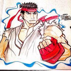 Ryu lápis de cor!