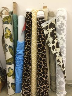Fabric ready to be used for student projects