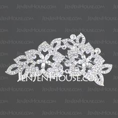 Headpieces - $25.99 - Lovely Clear Crystals Wedding Bridal Tiara (042004258) http://jenjenhouse.com/Lovely-Clear-Crystals-Wedding-Bridal-Tiara-(042004258)-g4258