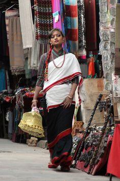 Actor Recha Sharma in traditional Newari attire #tradition #culture #nepali #movie