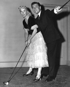 Doris Day With Gordon Macrae Circa 1953