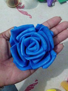Rosa azul escuro