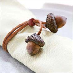 Acorn napkin ring craft | Sheknows.com