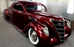 '37 Lincoln Zephyr....beautiful