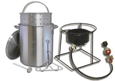 King Kooker 1266B 12-Inch Propane Outdoor Cooker with 29-Quart Aluminum Turkey Pot with Basket - http://www.outdoorcookinggrills.com/king-kooker-1266b-12-inch-propane-outdoor-cooker-with-29-quart-aluminum-turkey-pot-with-basket/