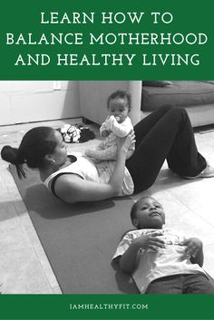 Learn some tips on how to strike a balance between motherhood and fitness, including moving at your own pace and being consistent. Read it now or re-pin for later.  Clean eating / health / wellness / healthy tips / fitness / exercises / cooking / cooking tips / meal prep / weight loss / women / mothers / mom / children
