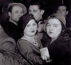women dancing by George Brassai, circa 1930