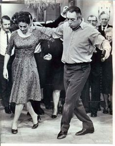 Irene Papas and Anthony Quinn. Irene Papas and Anthony Quinn. Cinema Tv, Films Cinema, Shall We Dance, Just Dance, Vintage Hollywood, Classic Hollywood, Irene Papas, Greek Dancing, Zorba The Greek