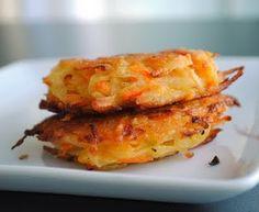 Kartoffel-Karotten Puffer