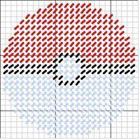 Pokeball Coaster Set Pattern by SilverAnaya