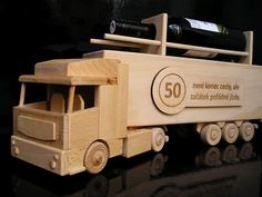 Wooden Toys, Car, Truck, Tractor, Liquor, Wood Toys, Automobile, Vehicles, Cars