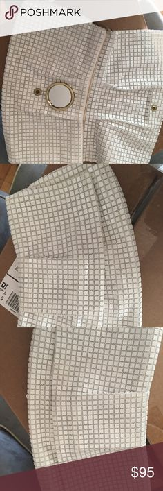 No Name No Name white clutch in good condition it's a classic. No Name Bags Clutches & Wristlets