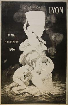 """Épreuve avant la #lettre pour cette #lithographie du maître affichiste aux aplats de #couleur Leonetto Cappiello. Passage d'une nuance de #noir datée 1913 ; Texte de l'#affiche : """"1er mai 1er novembre"""" #numelyo #color"""