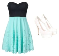 """""""8th Grade Graduation"""" by emmacav123 ❤ liked on Polyvore featuring Miss KG"""