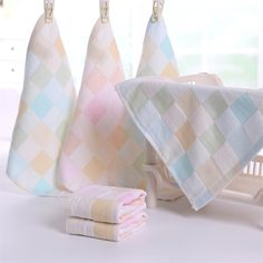 Soft Single Small Square Cotton Handkerchief Floral Printed Pocket Square Wedding 23cm*23cm Hankies For Kids Brand Pocket Towel