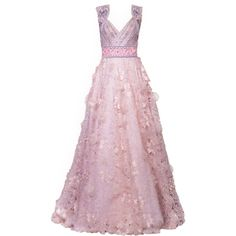 satinee.polyvore.com - Dany Atrache 2015 ❤ liked on Polyvore featuring dresses, gowns, long dress, satinee, vestido, pink evening dress, long dresses, pink evening gowns, pink gown and pink ball gown