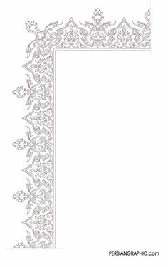 Graphic.ir Full Size Image Stencil Patterns, Stencil Designs, Pattern Art, Insect Coloring Pages, Medieval Pattern, Islamic Art Pattern, Geometric Drawing, Indian Art Paintings, Turkish Art