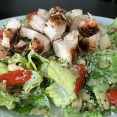 Mexican Caesar Salad with Homemade Dressing