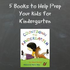 5 books to help kids get ready for kindergarten #BabyCenterBlog