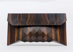 Great Ebony // XL wood clutch by TeslerMendelovitch on Etsy
