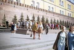 Color Photographs of Soviet in 1973 ~ vintage everyday Travelogue, Soviet Union, Homeland, Nostalgia, Street View, History, World, Photography, Color