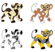 3 adopted by Sierra Fischer The Lion King 1994, Lion King Fan Art, Lion Art, Cartoon Drawings, Animal Drawings, Anime Animals, Cute Animals, Lion King Animals, Disney Adoption