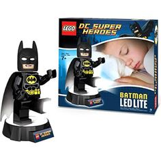 Batman certainly does a sterling job of fighting Supervillains and protecting Gothamites, but standing guard over your little ones is a whole different game. It's a good thing that our LEGO Batman has been kitted out with the latest tech and LED lighting!