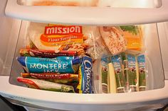 containers in fridge for organizing drawers